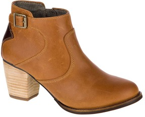 CAT Footwear Tan & Tater Trestle Leather Bootie
