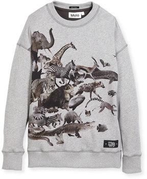 Molo Milton Sweatshirt Dress, Size 4-10