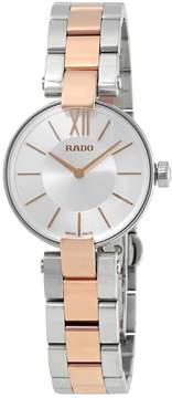 Rado Coupole Silver Dial Ladies Watch