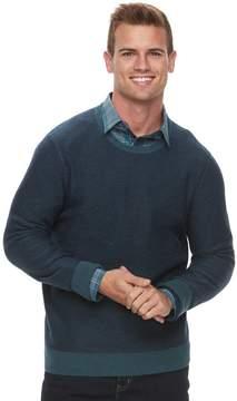 Apt. 9 Men's Slim-Fit Textured Crewneck Sweater