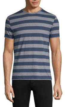 Isaia Striped Cotton T-Shirt