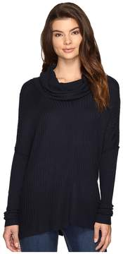 Brigitte Bailey Algelie Cowl Neck Ribbed Sweater Women's Sweater