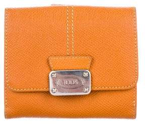 Tod's Leather Compact Wallet