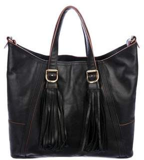 See by Chloe Fringe Leather Satchel