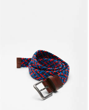 Express multi-color web stretch belt
