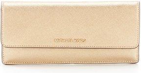 MICHAEL Michael Kors Metallic Flat Wallet - PALE GOLD - STYLE
