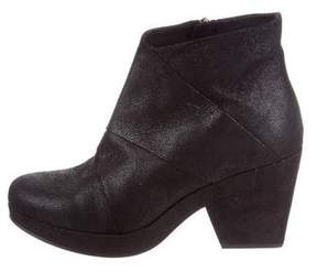 Eileen Fisher Suede Ankle Boots