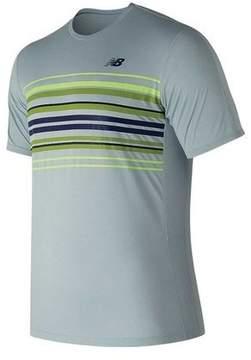 New Balance Men's MT81430 Graphic Accelerate Tennis Crew Tee