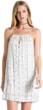 Bella Dahl Tie Front Cami Dress -White-S