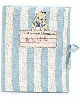 Olympia Le-Tan 'Notebook Alice' clutch