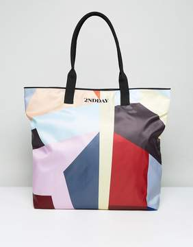 DAY Birger et Mikkelsen 2nd 2NDDAY Nylon Printed Shopper Bag