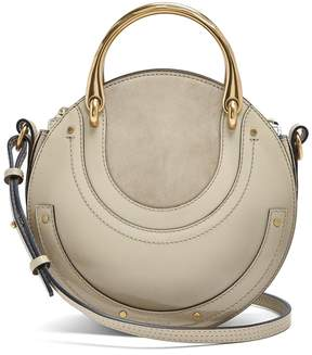 Chloé Pixie small leather and suede cross-body bag