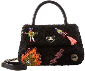 Betsey Johnson CURLY GIRL TOP HANDLE CROSSBODY