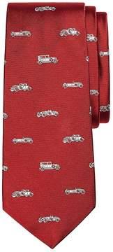 Brooks Brothers Novelty Vintage Car Silk Tie