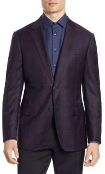 Armani Collezioni Slim-Fit Wool Blazer