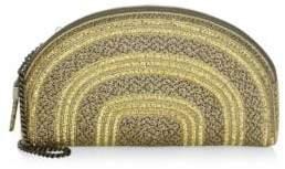 Eric Javits Croissant Silver Bag