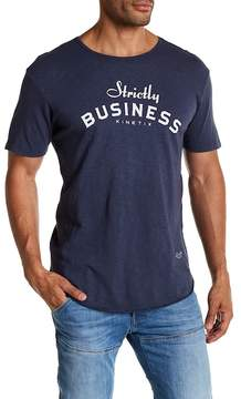 Kinetix Strictly Business Graphic Print Tee