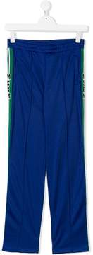 MSGM TEEN side-striped track pants