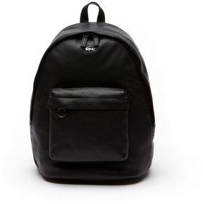 Lacoste Women's Break Point Colorblock Leather Backpack