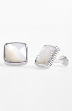 David Donahue Men's Semiprecious Stone Cuff Links