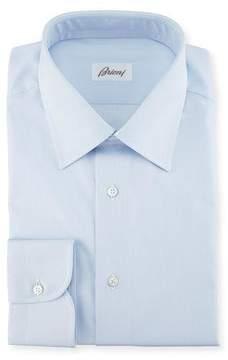 Brioni Micro-Stripe Cotton Dress Shirt