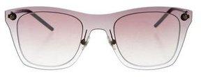 Marc Jacobs Reflective Square Sunglasses