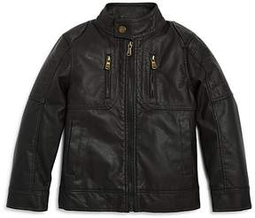 Urban Republic Boys' Faux-Leather Moto Jacket - Little Kid