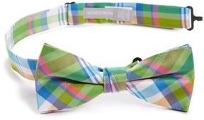 Nordstrom Boy's Plaid Silk Bow Tie