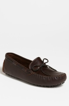 Minnetonka Men's Leather Driving Shoe