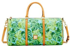 Dooney & Bourke Montego Coated Cotton Gym Duffle - CARIBBEAN BLUE - STYLE