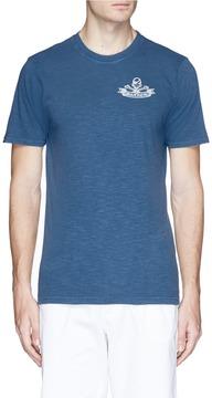 Denham Jeans 'Ice-D' sea map print T-shirt