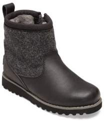 UGG Kid's Bayson Wool & Leather UGGPure Boots