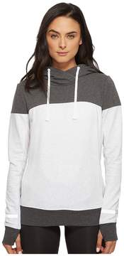 Blanc Noir Cross Over Hoodie Women's Sweatshirt