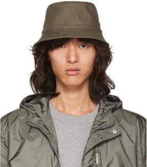 Acne Studios Green Buk Bucket Hat