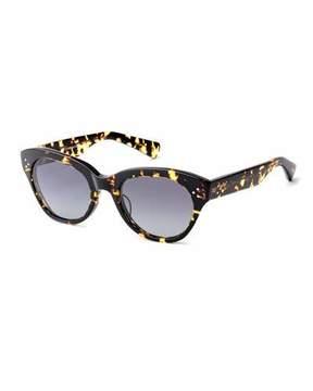 Salt Bobbi Acetate Cat-Eye Polarized Sunglasses