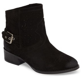 Naughty Monkey Women's Zoey Perforated Bootie