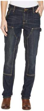 Carhartt Slim Fit Double-Front Denim Dungaree Jeans Women's Jeans