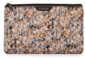 Lodis Tof Faux Leather Flat Pouch