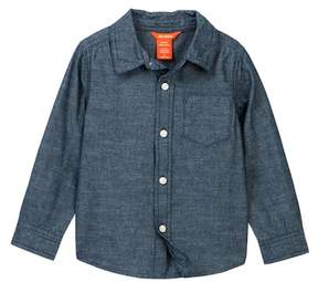 Joe Fresh Long Sleeve Chambray Shirt (Toddler & Little Boys)