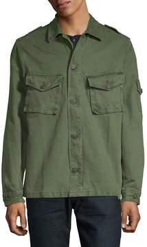 Jean Shop Men's Slim Cotton Jacket