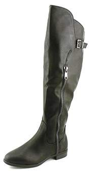 Rialto Womens Firstrow Closed Toe Knee High Fashion Boots.