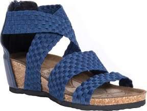 Muk Luks Elle Wedge Sandal (Women's)