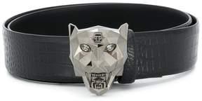 Philipp Plein panther head belt