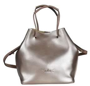 Hogan Women's Silver Leather Shoulder Bag.