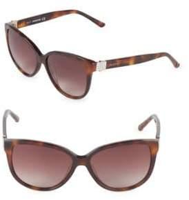 Swarovski 56MM Butterfly Sunglasses