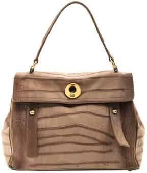 Saint Laurent Muse Two leather handbag - BEIGE - STYLE