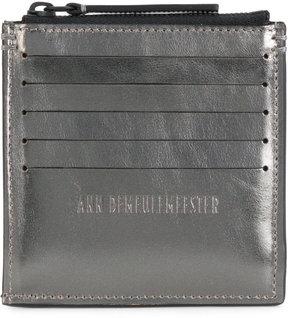 Ann Demeulemeester zip cardholder