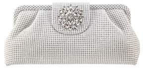 Nina Hampton Embellished Frame Clutch