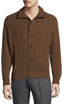 Luciano Barbera Cable-Knit Sweater