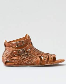 American Eagle Outfitters Bed Stu Claire Oxblood Sandal